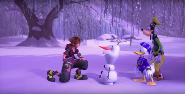 'Kingdom Hearts 3' journeys to the 'Frozen' universe