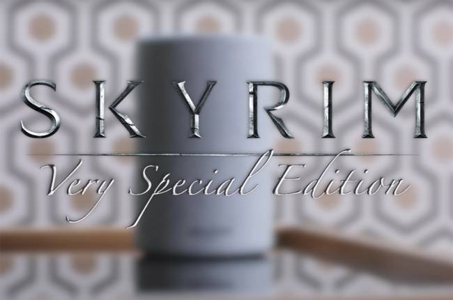 'Skyrim' isn't coming to Amazon's Alexa