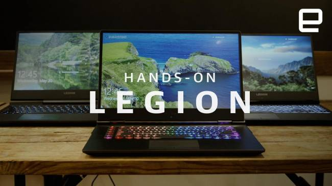 Lenovo gives its Legion gaming laptop line a tasteful makeover
