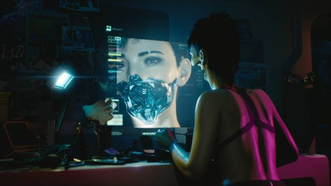 In 'Cyberpunk 2077' you control your own dark, intoxicating future