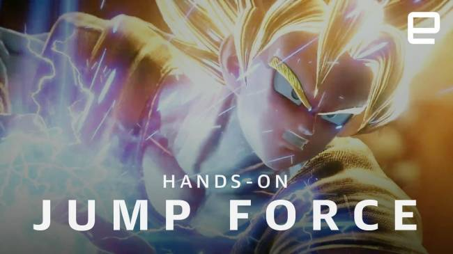 Playing 'Jump Force' is like drinking liquid fan service