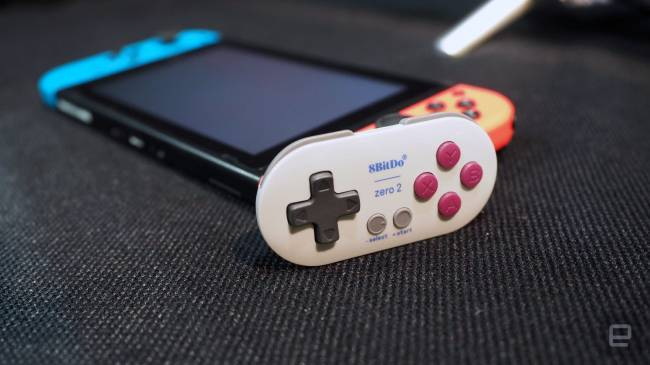 I need one of 8Bitdo's incredibly tiny Switch controllers