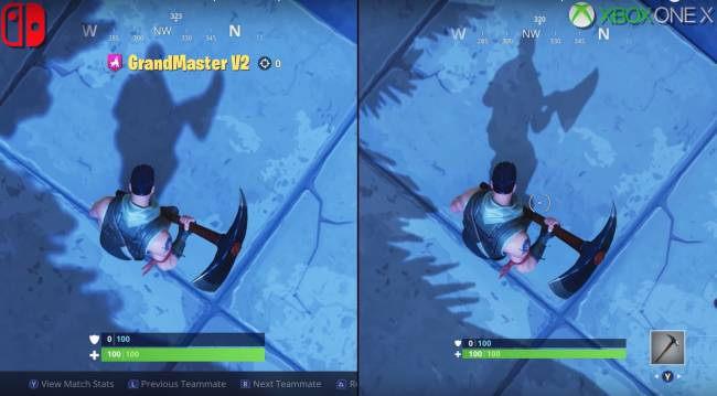 'Fortnite' on Switch still holds up against Xbox One X version