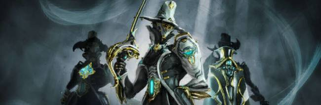 Get your dapper on with Warframe's new Limbo Prime, the game's 57th 'frame