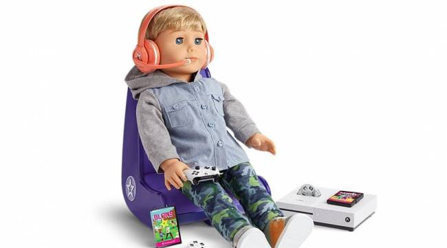 American Girl Doll Gets Xbox Gaming Set