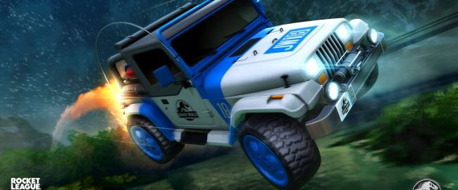 Go Wild for New Jurassic World Car Pack, Available Now in Rocket League