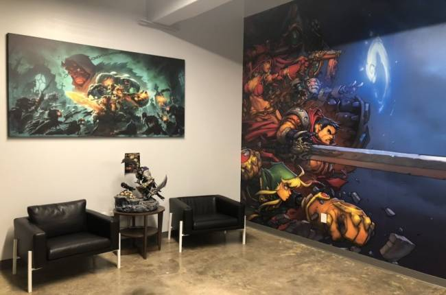 A Quick Photo Tour Of Darksiders: Genesis Developer Airship Syndicate's Studio