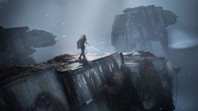 Respawn Talks Building AT-ATs And Creating Lightsabers For Star Wars Jedi: Fallen Order