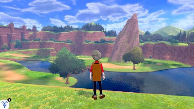 Pokémon Sword And Shield's Developers Exhibit The Open-World Wild Area