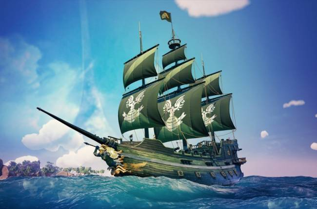 Sea Of Thieves Adds Halo-Themed Ship Free This Week