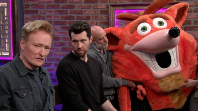 Clueless Gamer Returns For Crash Team Racing With Conan O'Brien And Billy Eichner
