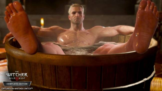Here's What The Witcher 3 Looks Like On The Switch