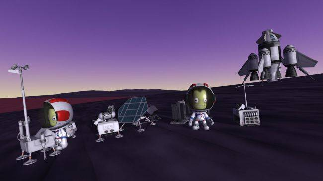 Kerbal Space Program's second expansion, Breaking Ground, is out now