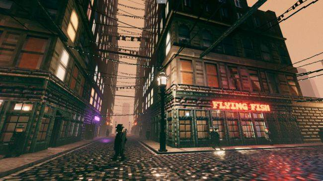 Stalk a serial killer in a simulated city in the Deus Ex-like Shadows of Doubt