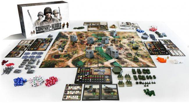 A Company of Heroes board game is coming