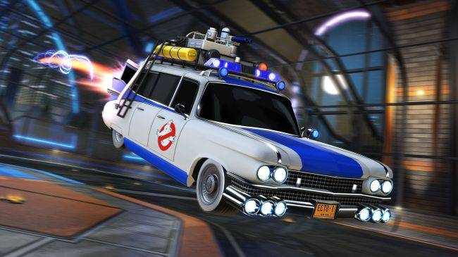 Rocket League returns to the '80s with Ghostbusters and Knight Rider
