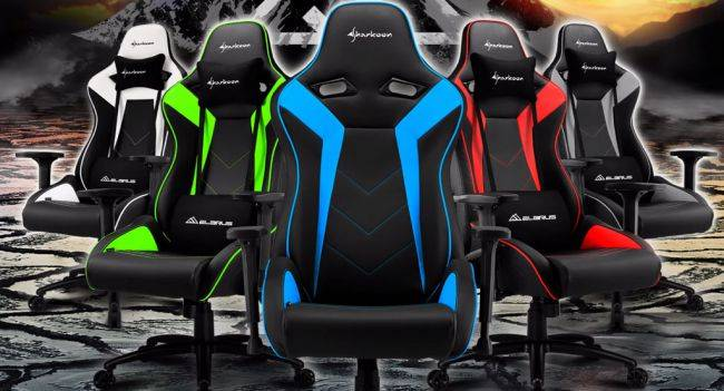 These new gaming chairs have steel frames, support up to 330 pounds
