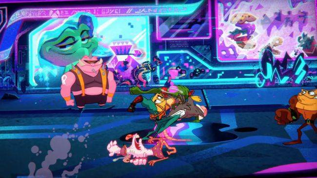 Battletoads are back, along with those damn hoverbikes