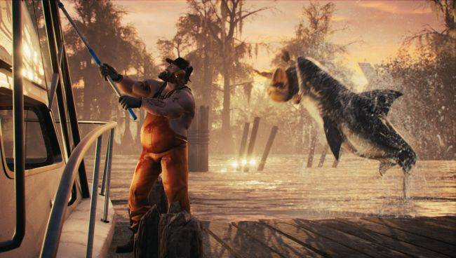 A lot of men get eaten in the Maneater gameplay reveal