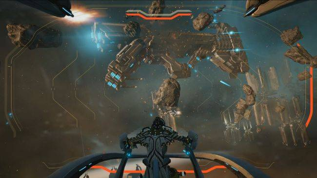 Warframe teases ship-to-ship combat at PC Gaming Show, offers free Nekros Prime