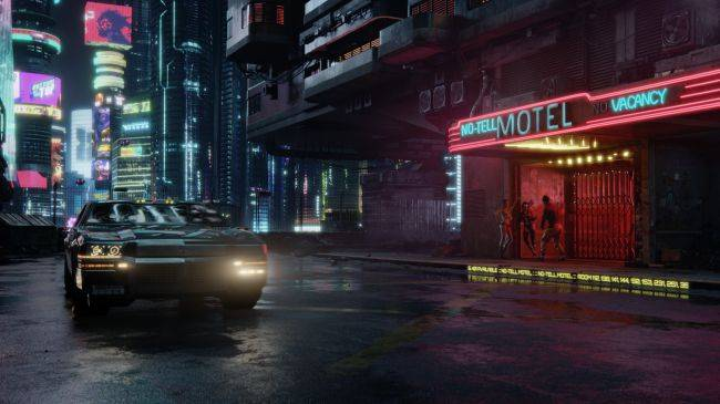 Cyberpunk 2077 won't let you drive flying cars