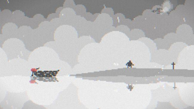 Sail through a drowned world in free game The Things We Lost In The Flood