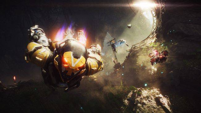 EA CEO says Anthem is 'not working very well' but vows to stick with it (and BioWare)