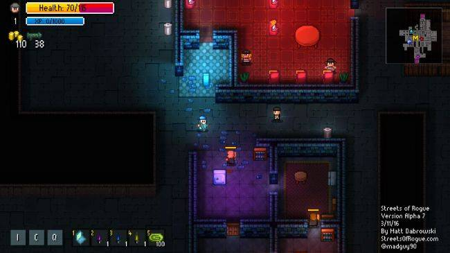 Roguelite immersive sim Streets of Rogue is leaving Early Access