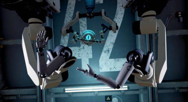 Aperture Hand Lab is a Portal-based tech demo for the Valve Index VR headset