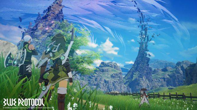 Bandai Namco announces new PC online action-RPG called Blue Protocol