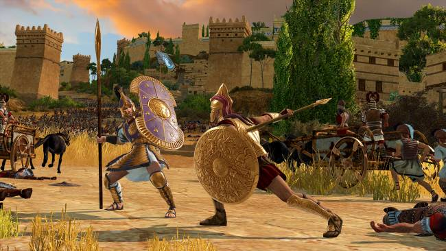 A Total War Saga: Troy will have mod support 'as soon as possible' after release