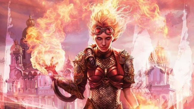 Exclusive Magic: The Gathering card reveal – Chandra brings fiery friends to battle