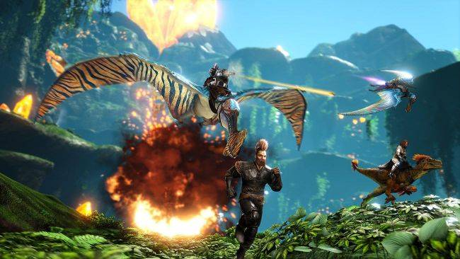 Ark: Survival Evolved's new map, dinosaur and anniversary event launch today