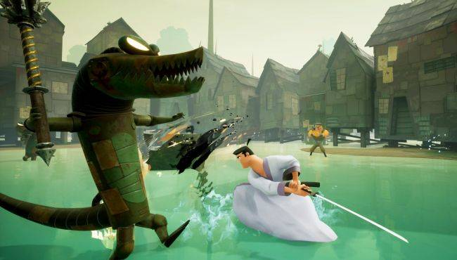 Samurai Jack: Battle Through Time looks like a PS2 game, in a good way