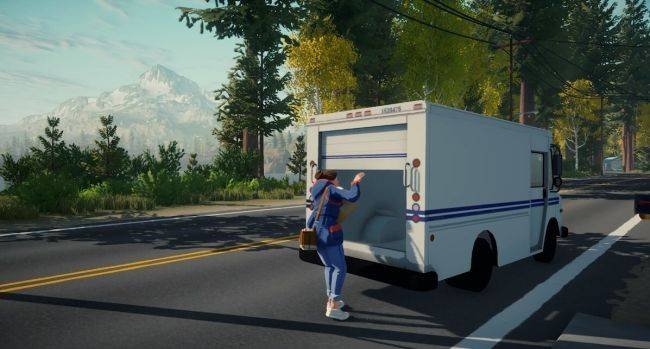 Lake is a chill free-roaming driving sim about being a postal worker in 1980s Oregon