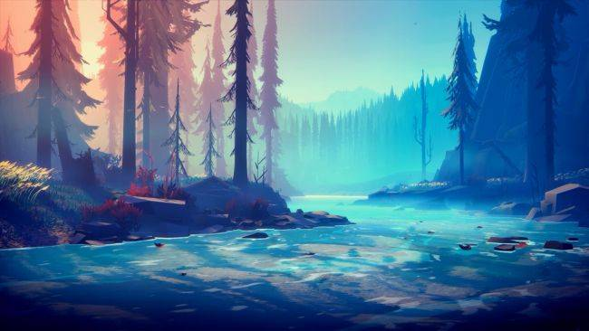 Among Trees, a visually resplendent and serene survival game, is out now on the Epic Games Store