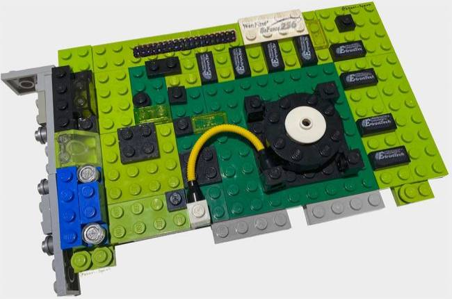 Someone built a LEGO version of the one of the most important GPUs in the history of 3D graphics