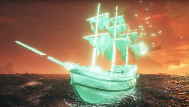 Sea of Thieves is getting ghost ships, gold-plated pets, and a free emote for everyone
