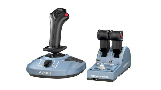 Kit out your MS Flight Sim cockpit with Thrustmaster's new range of Airbus controllers