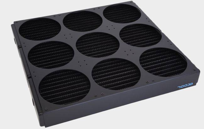 This 9-fan cooler is so massive it could make Hell freeze over