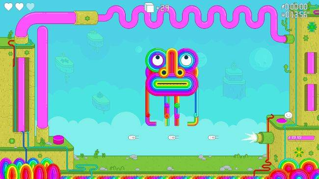 Psychedelic platformer Spinch looks like a trip
