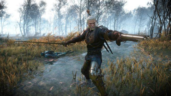 This Witcher 3 mod adds guns to Geralt's monster-hunting arsenal