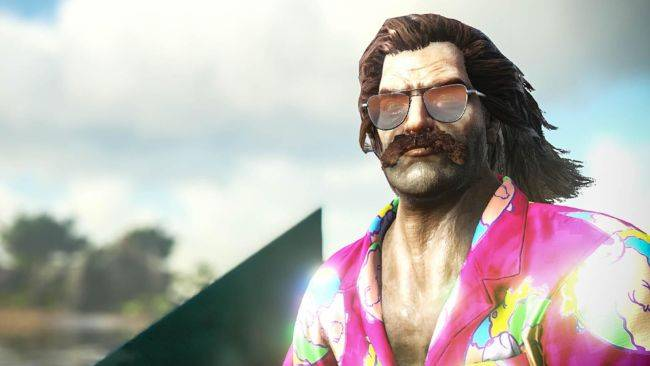 Ark's summer event adds Hawaiian shirts, sunglasses, and squirt gun skins