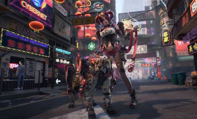 Syn is an open world cyberpunk FPS in development at Tencent Games