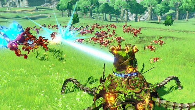 Breath of the Wild's Guardian will be playable in Hyrule Warriors, which rules