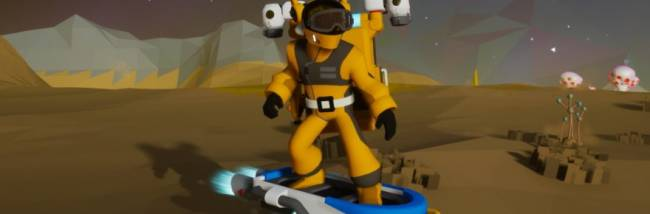 Astroneer is adding a hoverboard, new vehicles, and new missions this month in the Jet Powered update