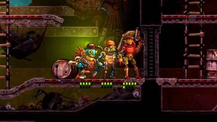 Here's Your First Look At SteamWorld Heist's Strategic Robot Combat