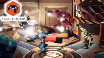 Test Chamber – Disney Infinity 3.0's New Marvel Battlegrounds Playset Ruins Office Civility