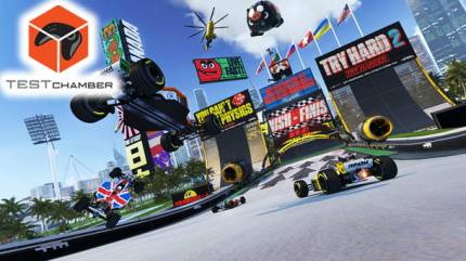 Test Chamber – Going Off The Rails With TrackMania Turbo