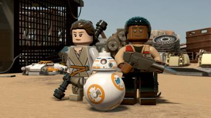 Lego Star Wars: The Force Awakens Gameplay Shows Off Cover System And Ship Battles